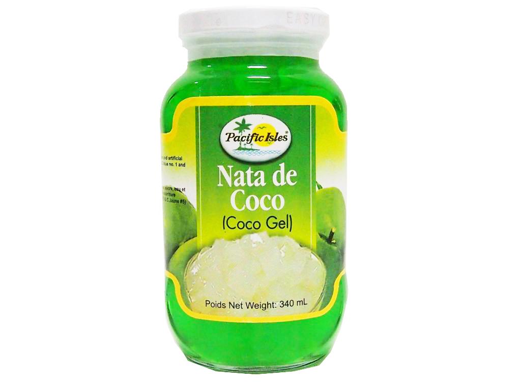 Nata de Coco green